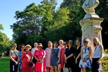 29.06.2019 - Gruppenbild mit Kaiserin Augusta